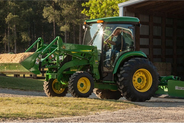 4M & 4R Compact Utility tractors - John Deere - Products - Equipment ...