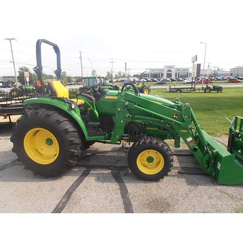 Compact / Utility Tractors Compact Utility Tractors John Deere 4066R ...