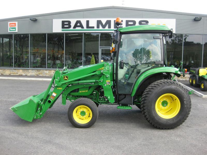 JOHN DEERE 4066R COMPACT TRACTOR & LOADER Diesel Tractors in Burnley ...