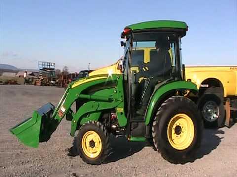 John Deere X749 Tractor With Hard Cab Snowblower | Car ...