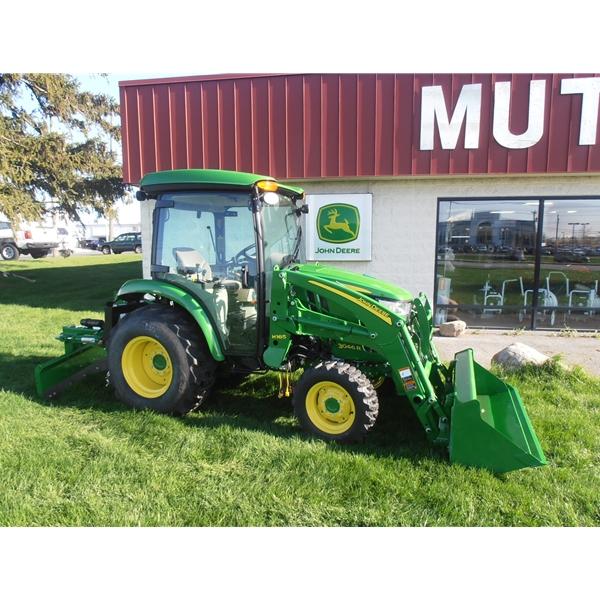 john deere 3046r cab tractor home compact utility tractors john deere ...