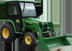 John Deere 3032E, 3038E Tractor Cabs and Cab Enclosures - Sims Cab ...