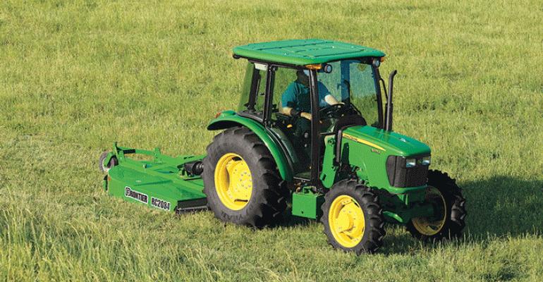 John Deere 5E series tractors updated