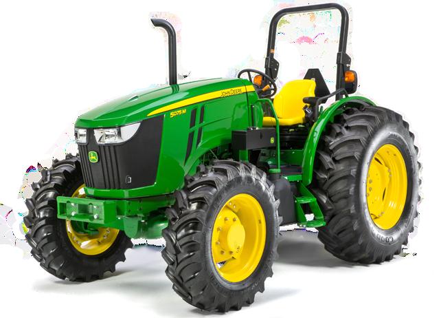 John Deere 5075M Utility Tractor 5M Series Utility Tractors JohnDeere ...