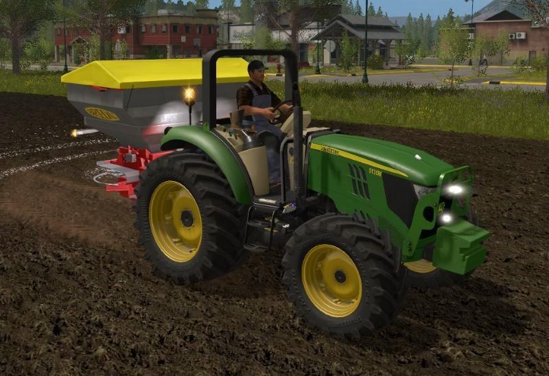 John Deere Serie 5M V 1.5.0.0 TRACTOR for LS17 - Farming simulator ...