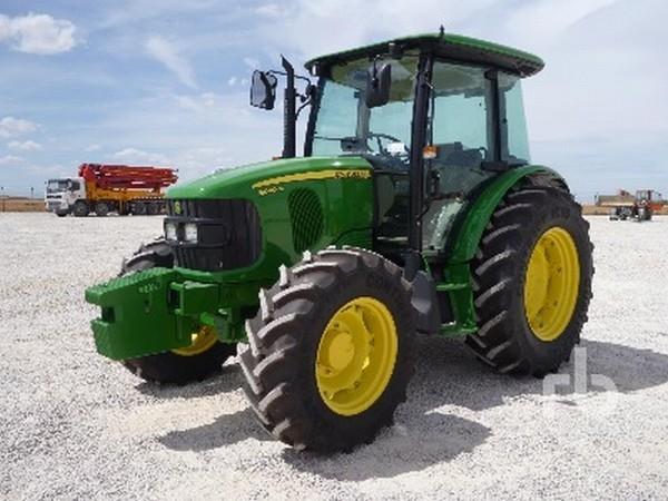 wheel tractor john deere 5090m brand john deere year of production ...