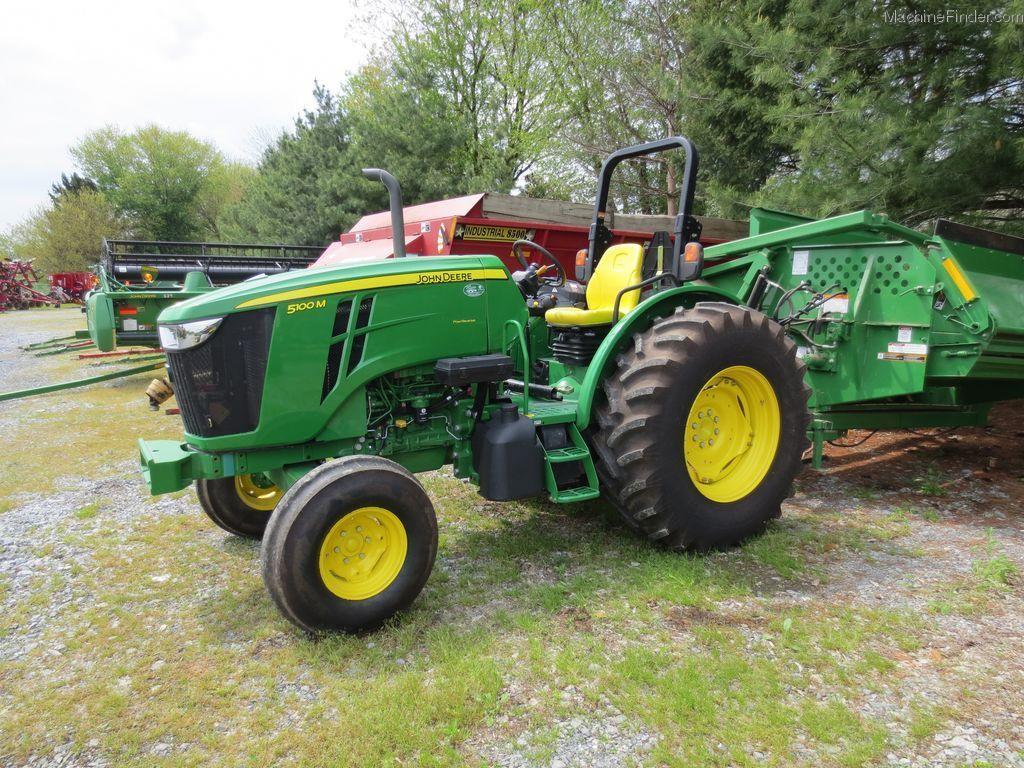 2012 John Deere 5100M Tractors - Utility (40-100hp) - John Deere ...