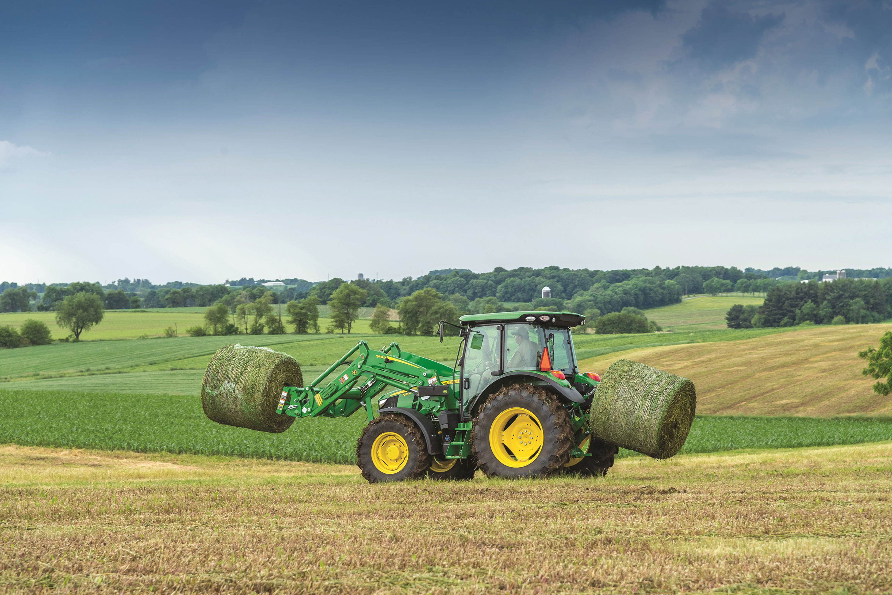 New John Deere 5R Series Tractors are available with two fully ...