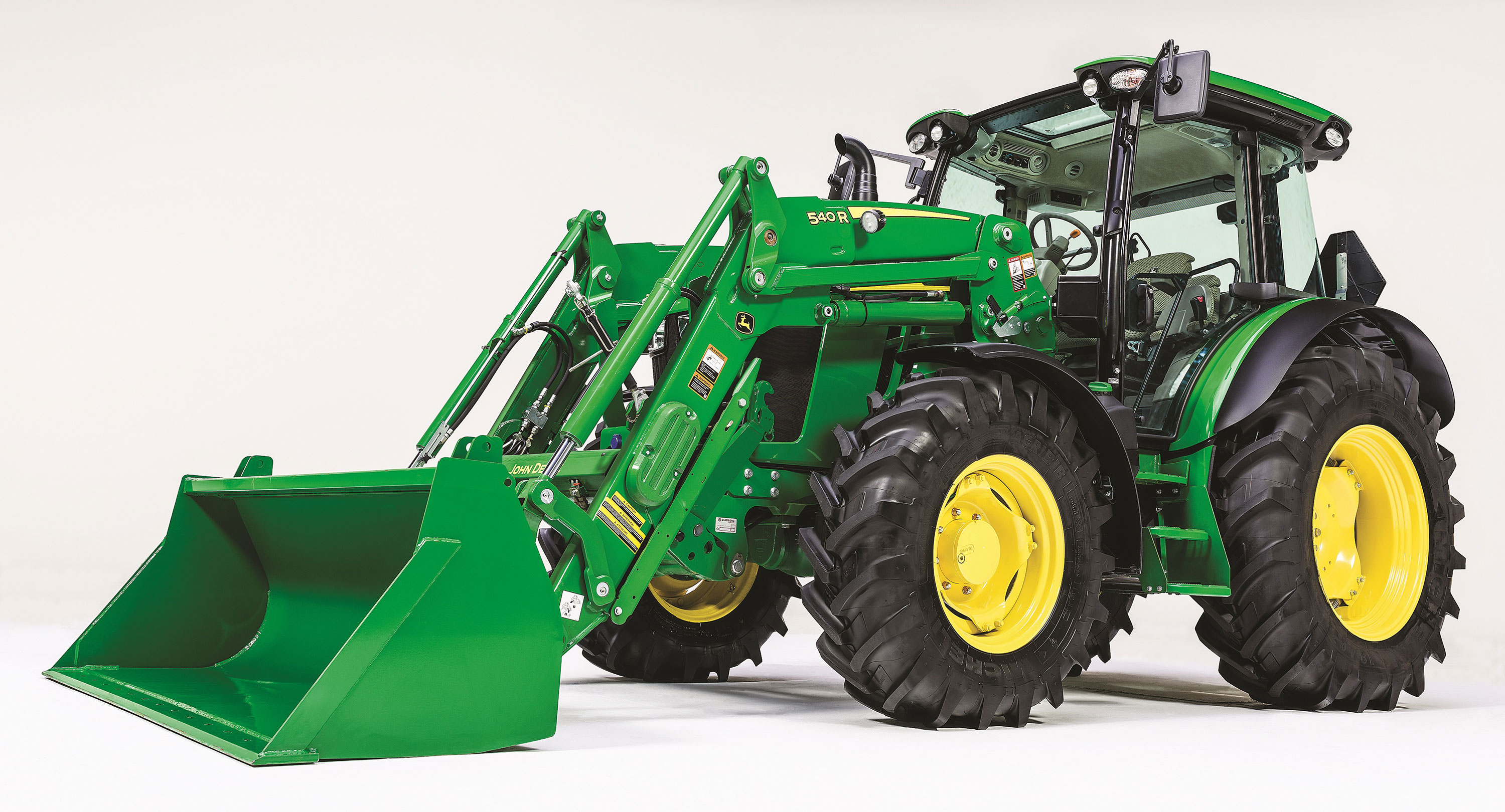 John Deere introduces its new 5R Series Tractors that can be equipped ...
