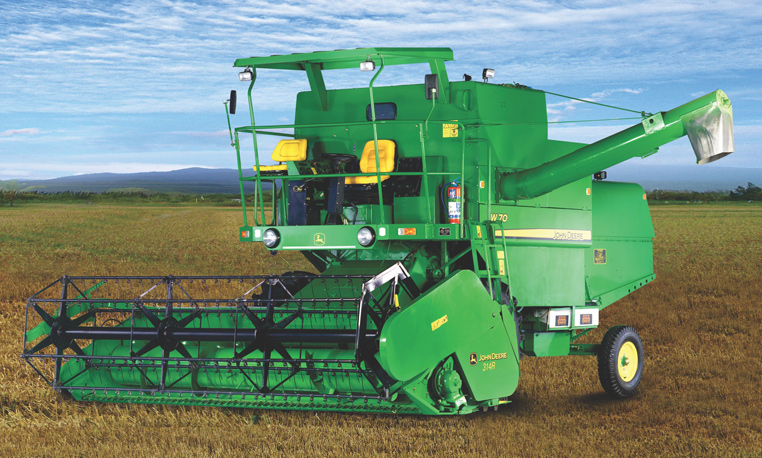 John Deere Grain Harvesting