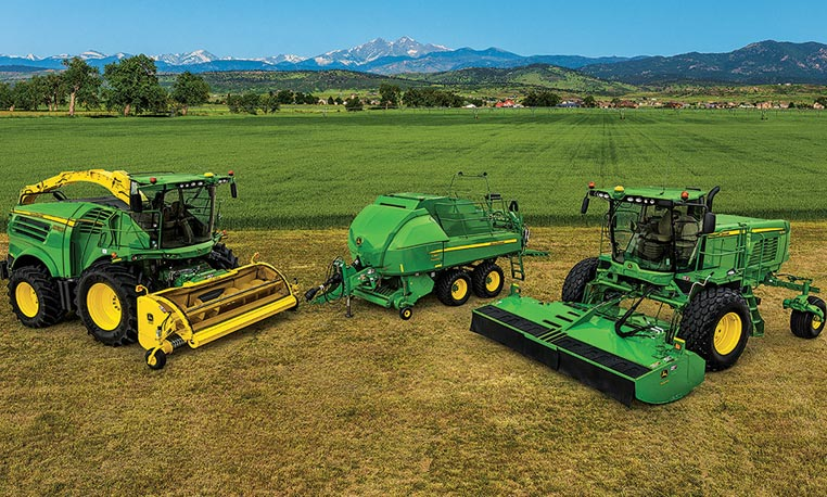 the new john deere commercial hay solutions view commercial hay ...