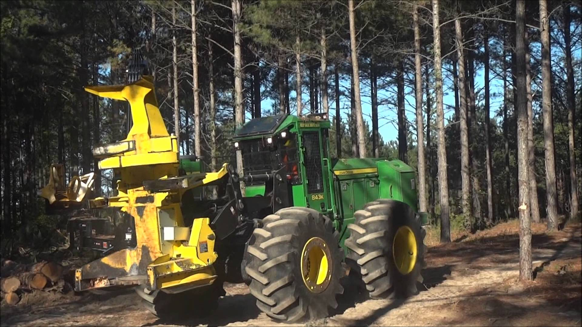 John Deere Forestry Machines You May recognize:Image to Wallpaper