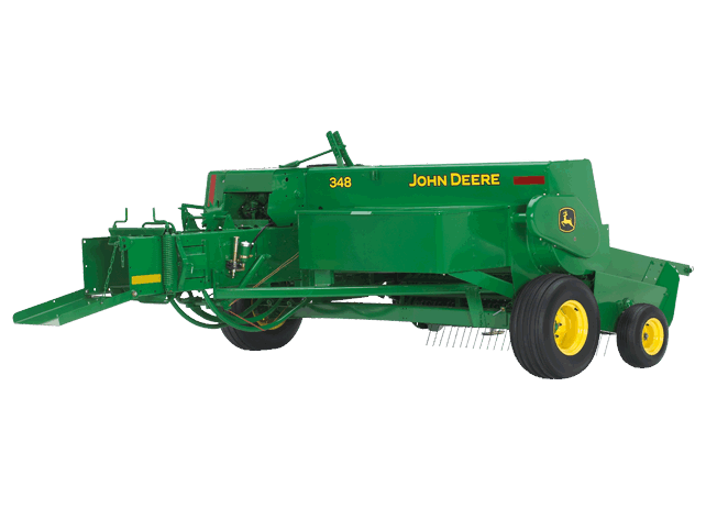 348 Small Square Baler | Hay and Forage | John Deere