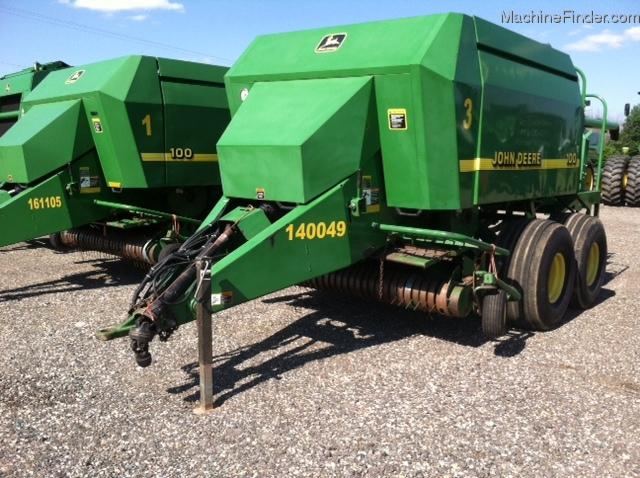 2000 John Deere 100 Hay Equipment - Large Square Balers ...