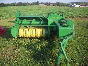 Used Farm Tractors for Sale: 214 T John Deere Square Baler ...
