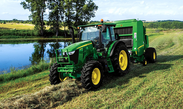 Utility Tractors and 459E Baler | E-Series | John Deere US
