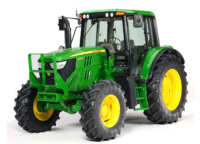 Studio image of a 6115M Utility Tractor