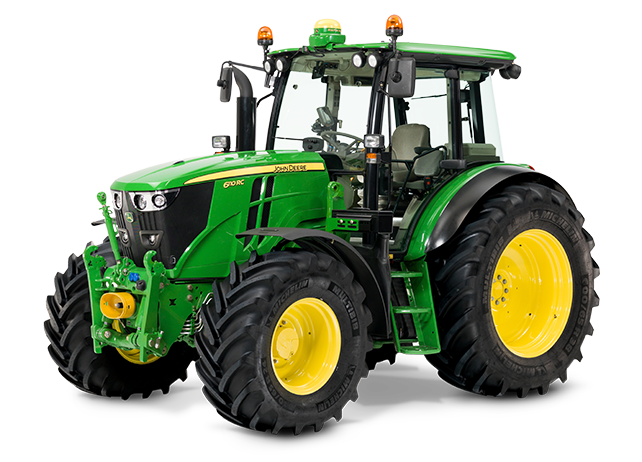 6110RC The premium tractor, when space is at a premium