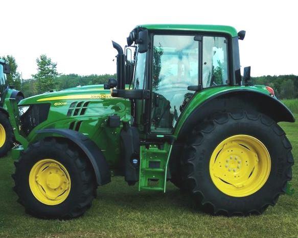 John Deere 6120M FT4 Tractor Specs
