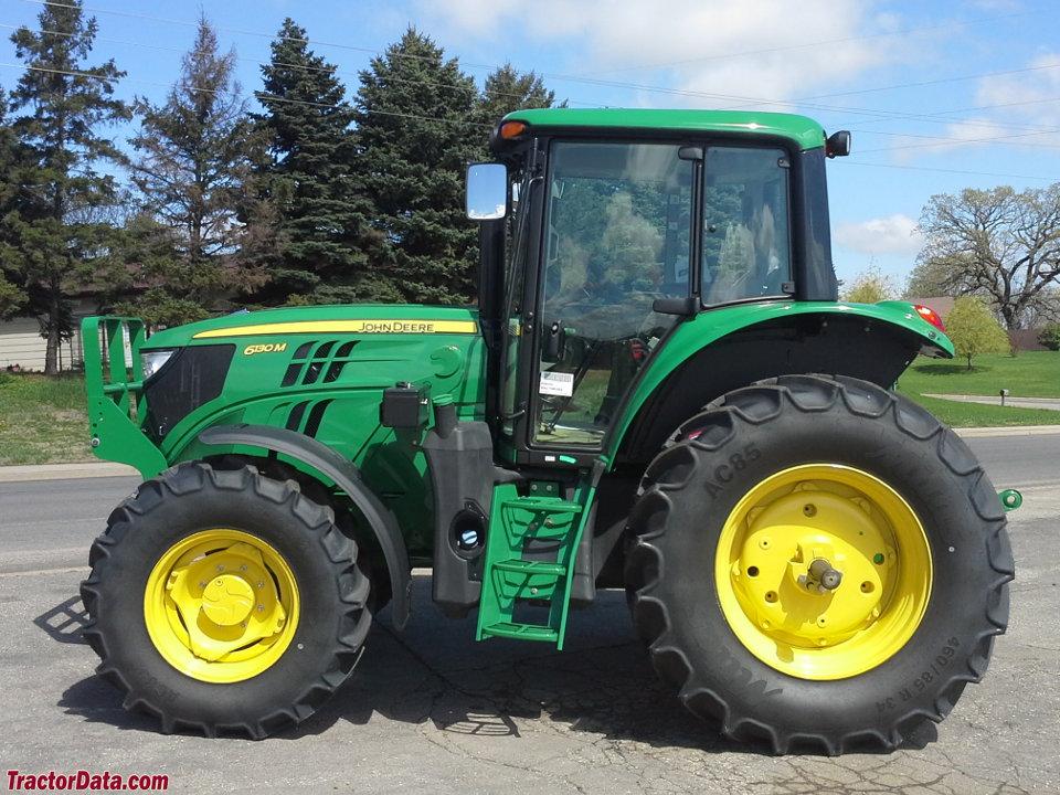 TractorData.com John Deere 6130M tractor photos information