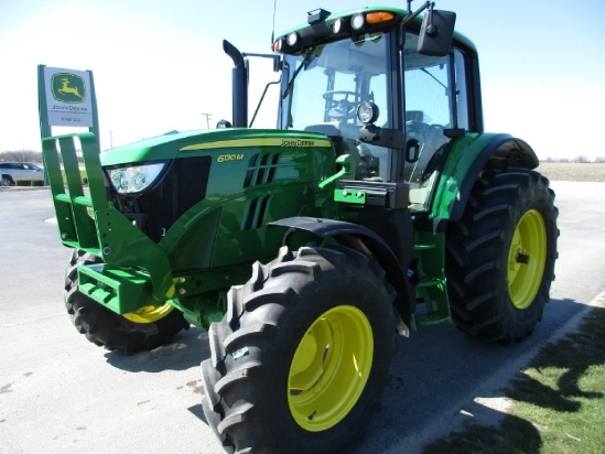 Photos of 2016 John Deere 6130M Tractor For Sale at Dwight » AHW,LLC