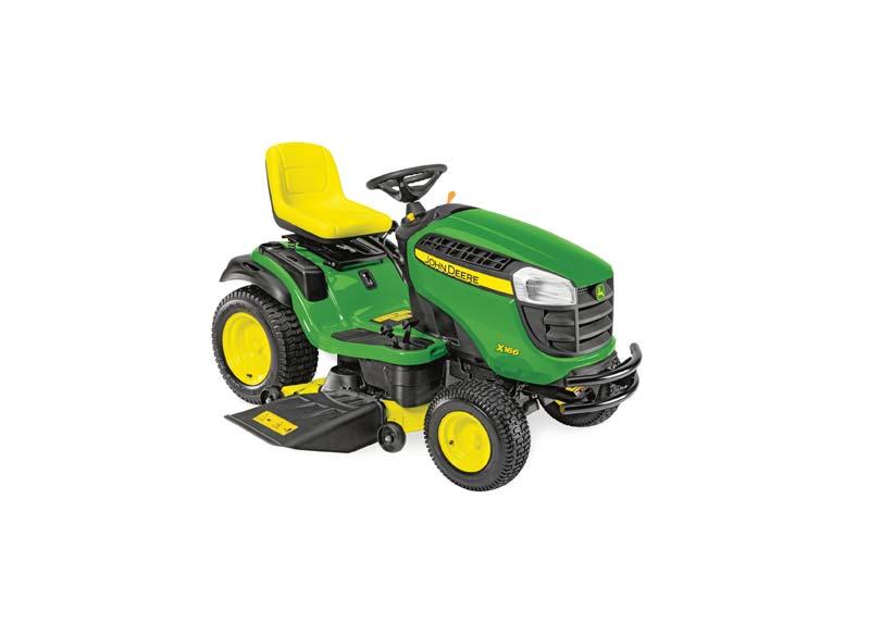 John Deere X166 Ride-on Lawn Mower