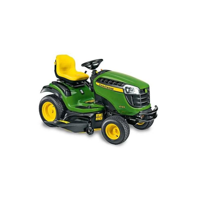 ... Ride On Mowers > John Deere X165 Ride On Lawn Mower 48 Cutting Width