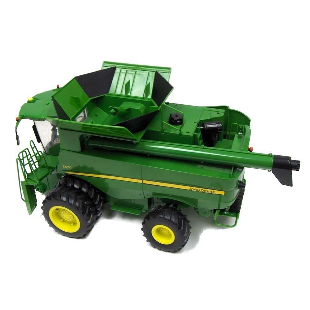 Ertl John Deere S670 Combine Big Farm Toy Series 1:16 ...