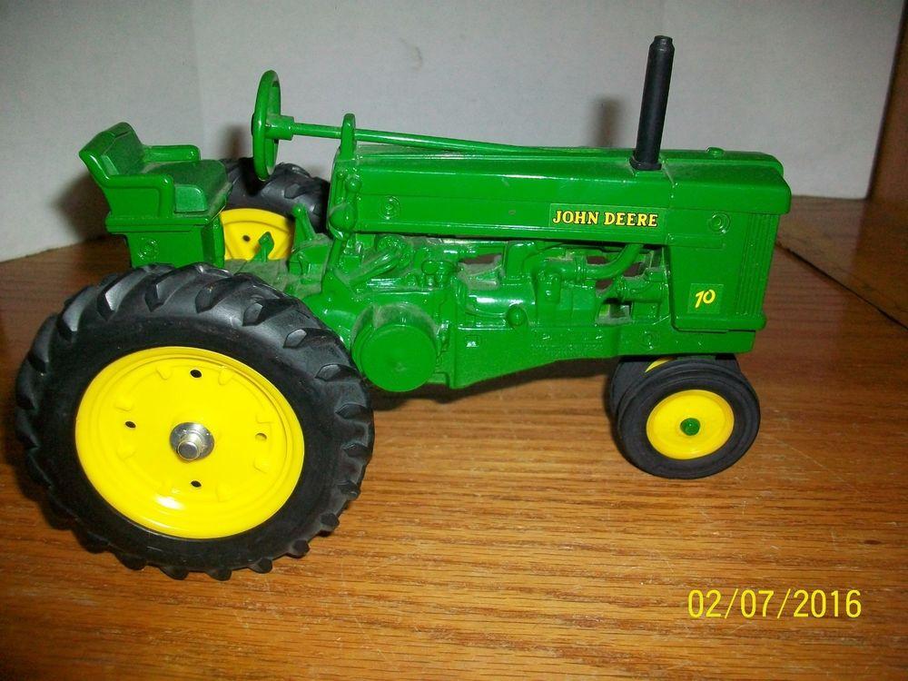 Ertl John Deere 70 Row Crop Diecast Farm Tractor in 1/16 ...