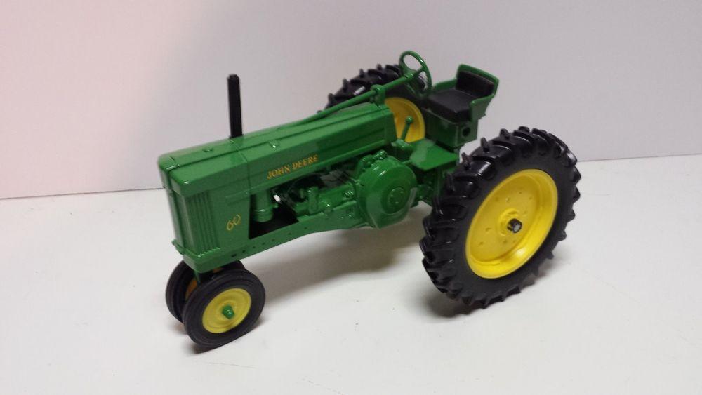 Toy Ertl John Deere Model 60 row crop tractor   eBay