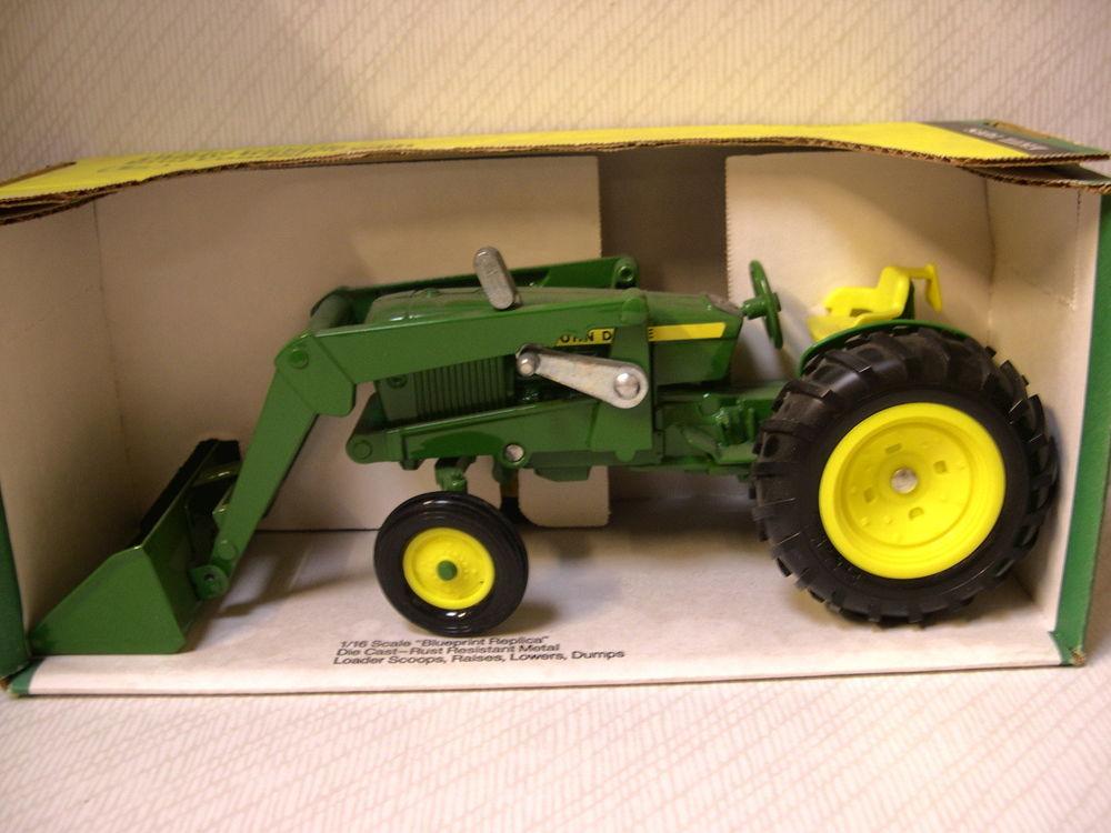 Ertl Toys John Deere Utility Tractor With End Loader   eBay