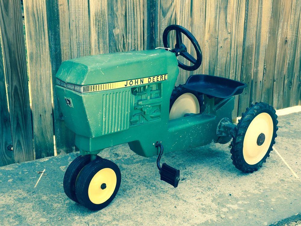 ERTL John Deere Model 520 Toy Pedal Tractor | eBay