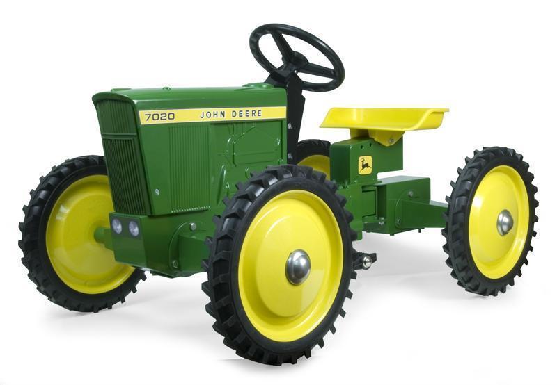 John Deere 7020 4X4 Pedal Tractor by ERTL NIB! Unassembled ...