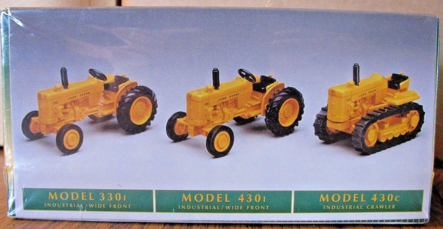 John Deere 430 330 Tractor & Crawler 1/64 ERTL Toy Dubuque ...