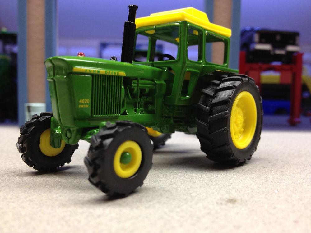 1/64 ERTL JOHN DEERE 4620 W/ 4WD & CAB   eBay
