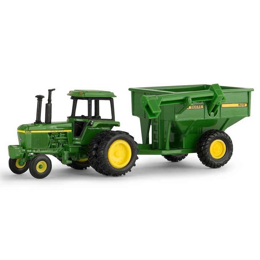 1/64th John Deere 4430 with JD 500 Grain Cart