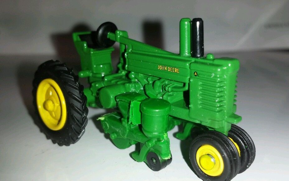 1/64 ERTL custom John deere model A with 2 row mounted ...