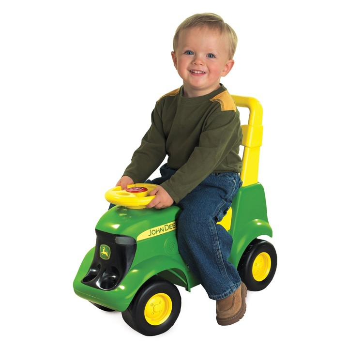 John Deere Tractor Scooter Toddler Ride-on Toy ...