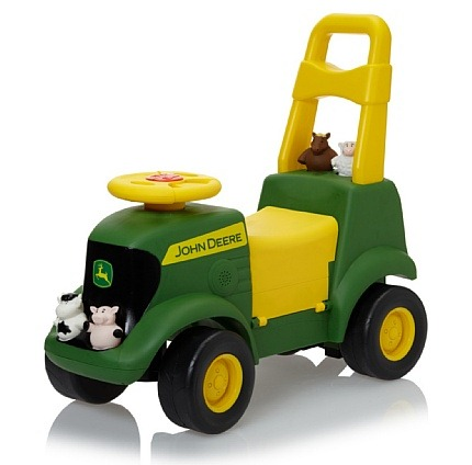 John Deere Tractor Ride On Toy Images & Pictures - Becuo