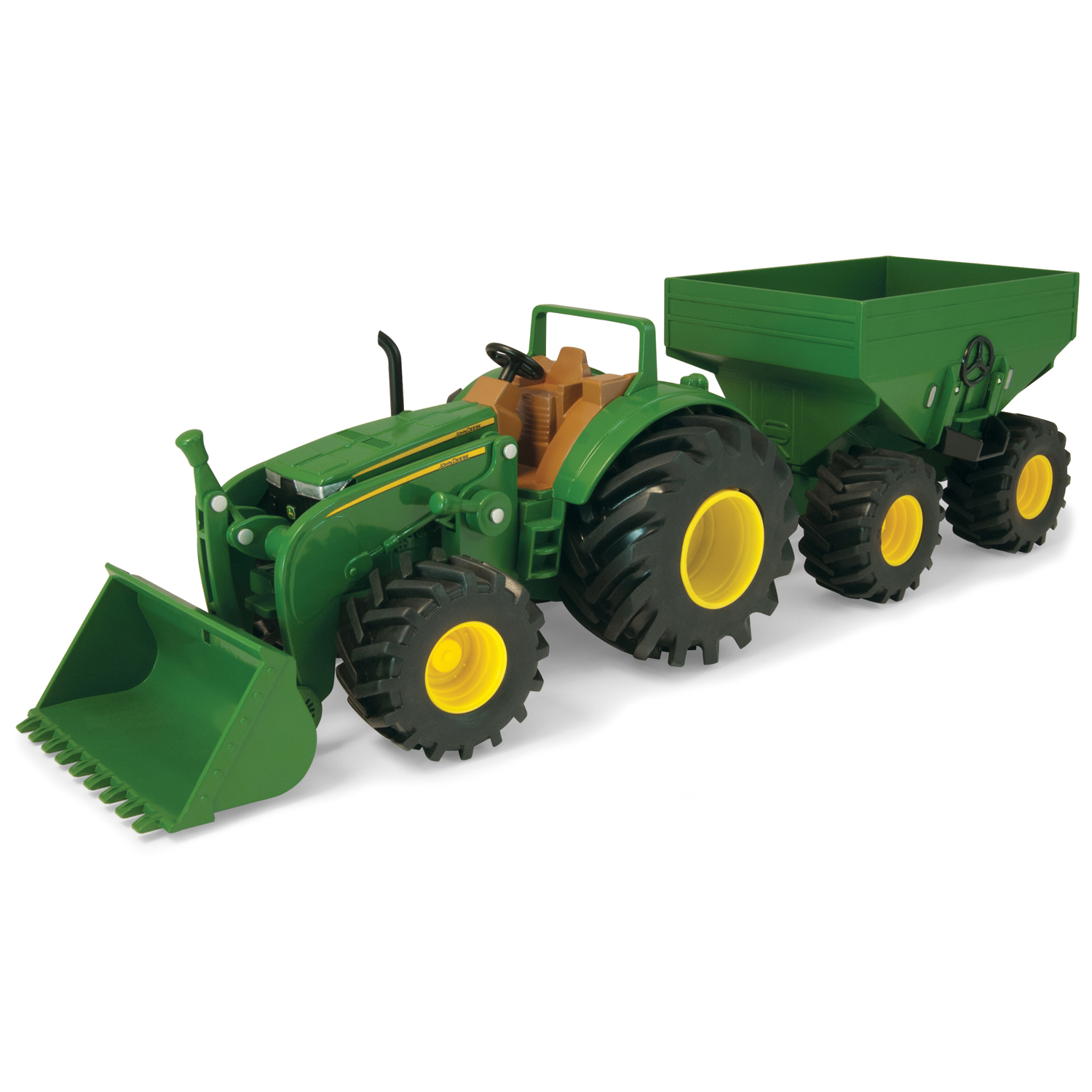 John Deere Toys - Tractor with Gravity Wagon & Loader at ...