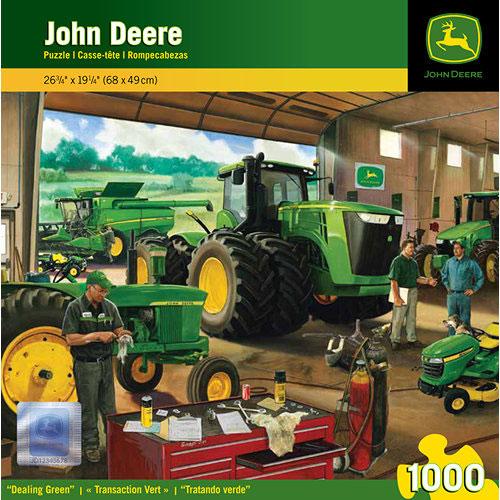 John Deere Dealing Green 1000 Piece Puzzle: 705988713033 ...