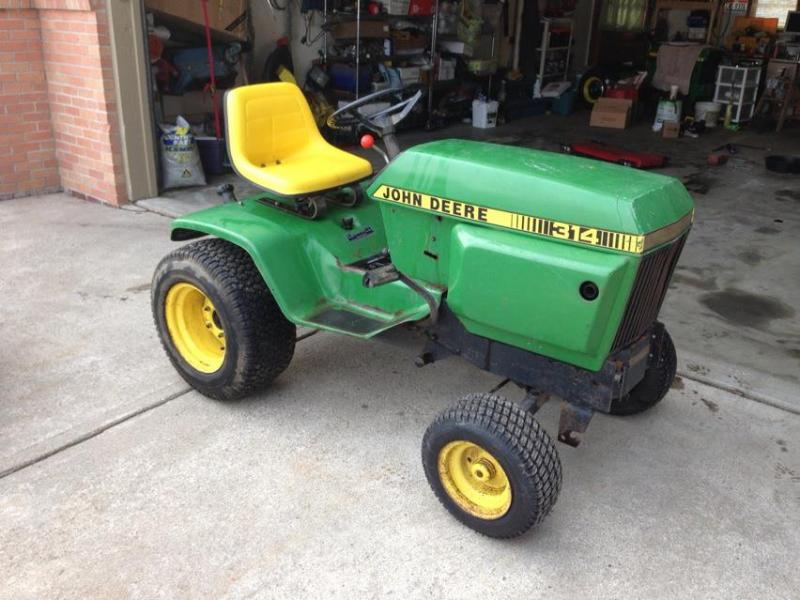 1982 John Deere 314 W/model 48 Deck - $700 Obo - Tractors ...