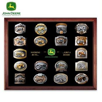 John Deere Collectible Belt Buckle Collection - 901227