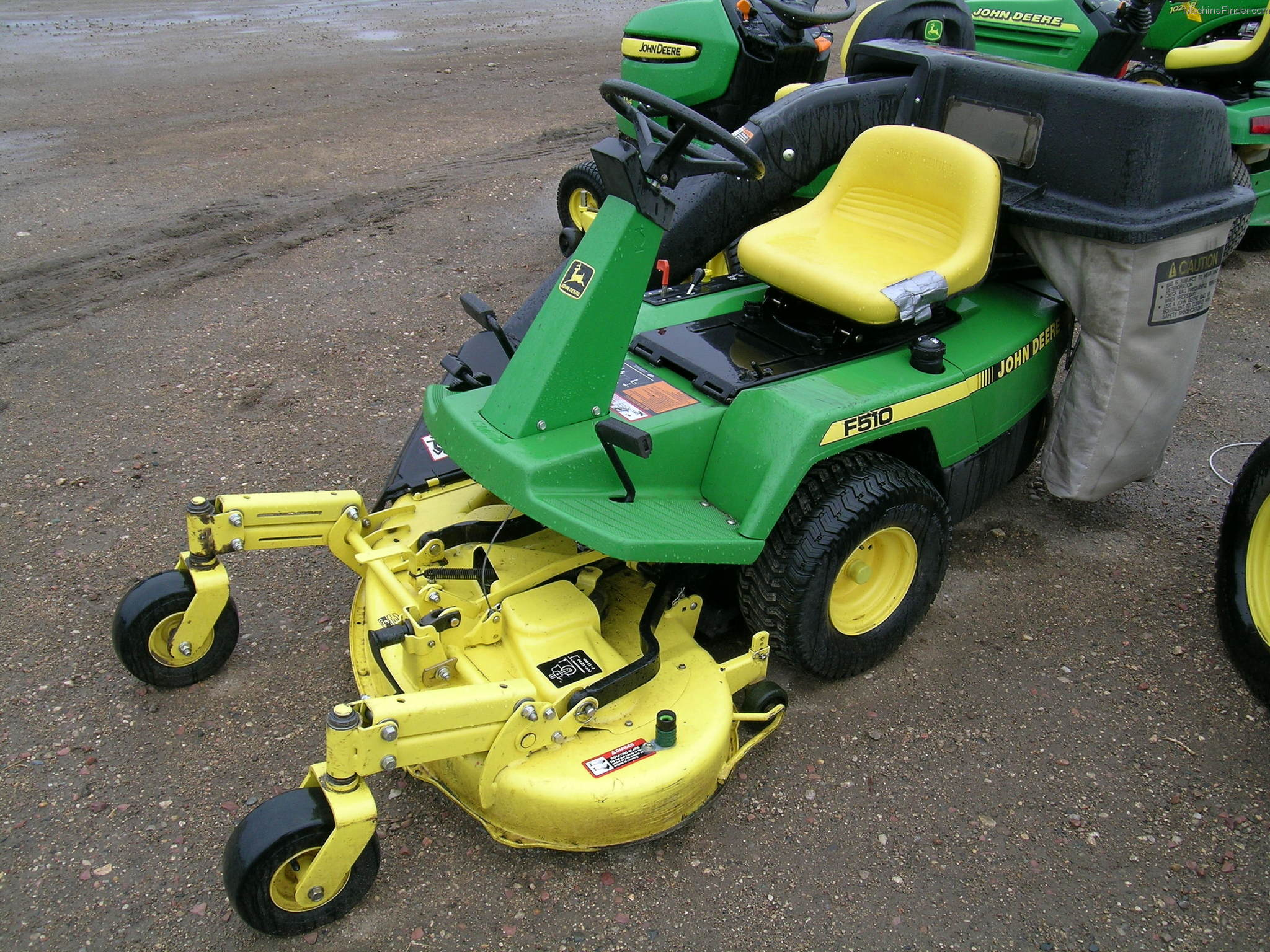 1997 John Deere F510 Lawn & Garden and Commercial Mowing ...