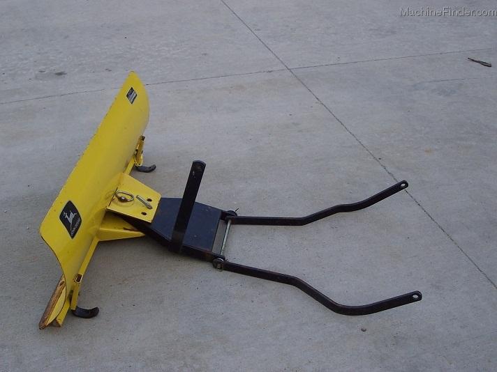 1991 John Deere JD 42 front blade for 111-116-160-170-180 ...