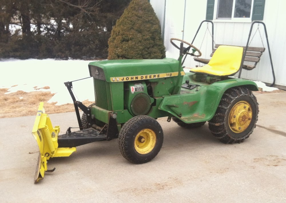 Tractor of the Week: 1968 John Deere 112 lawn tractor w ...