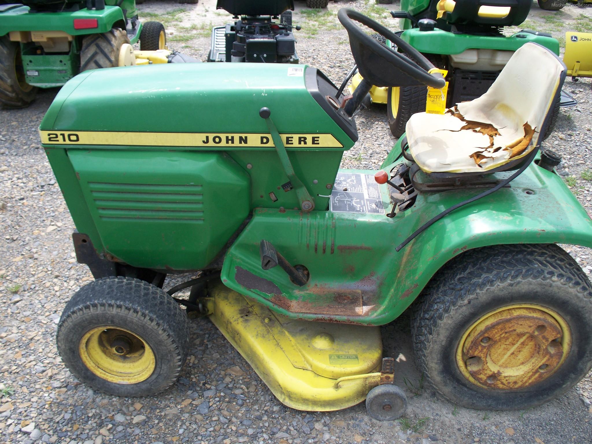 John Deere 210 Lawn & Garden and Commercial Mowing - John ...