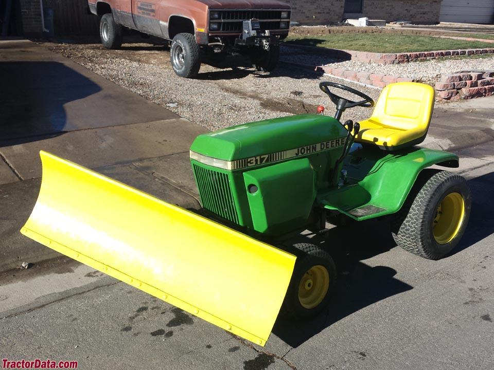 TractorData.com John Deere 317 tractor photos information