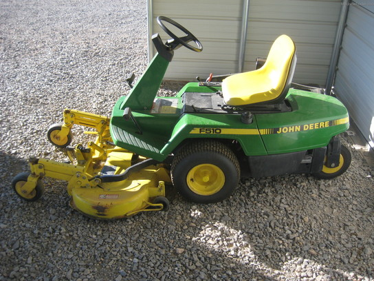 1991 John Deere F510 Lawn & Garden and Commercial Mowing ...