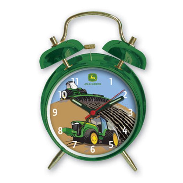 John Deere Johnny Tractor Twin Bell Alarm Clock - LP51448